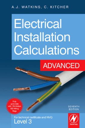 Electrical Installation Calculation Advanced 7th Edition By A J Watkins Chris Kitcher