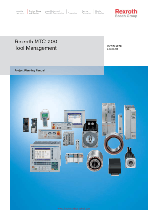 Rexroth MTC 200 Tool Management