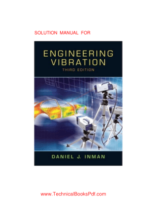Solution Manual Engineering Vibration 3rd Edition By Daniel J Inman