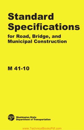 Standard Specifications for Road Bridge and Municipal Construction