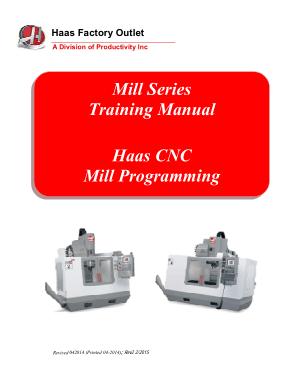 Haas Mill Programming Manual