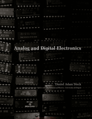 Analog and Digital Electronics by Daniel Adam Steck