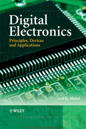 Digital Electronics Principles Devices and Applications By Anil K. Maini