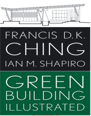 Green Building Illustrated By Francis D K Ching and Ian M Shapiro