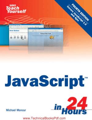 SAMS Teach Yourself Javascript in 24 hours 4th Edition