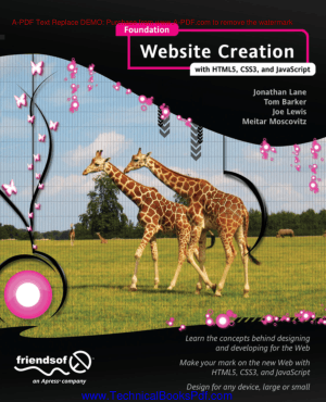 Foundation Website Creation with HTML5, CSS3 and JavaScript
