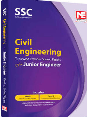 SSC JE Civil Engineering Topicwise previous Solved Papers