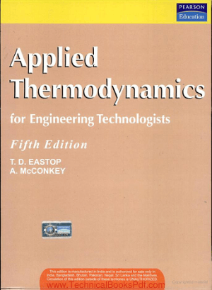 Applied Thermodynamic for Engineering Technologies