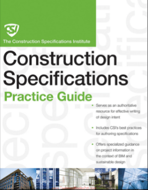 Construction Specifications Practice Guide