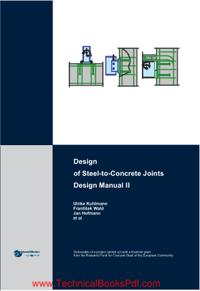 Design of Steel to Concrete Joints Design Manual 2