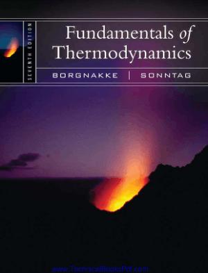 Fundamentals of Thermodynamics 7th Edition by Claus Borgnakke Richard E Sonntag