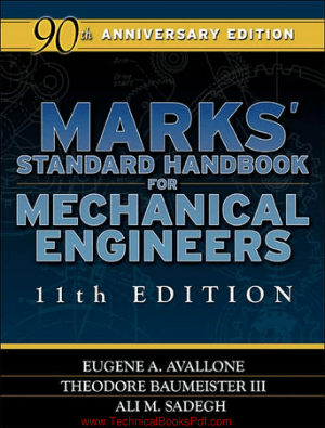 Marks Standard Handbook for Mechanical Engineers 11th Edition