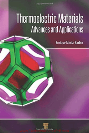 Thermoelectric Materials Advances and Applications