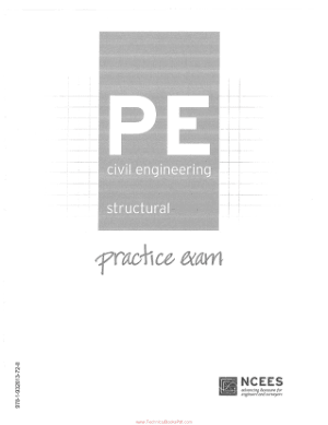 PE Civil Engineering Structural Practice Exam_opt