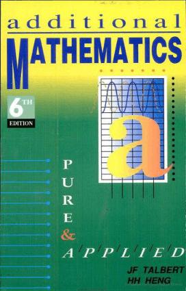 Additional Mathematics 6th Edition