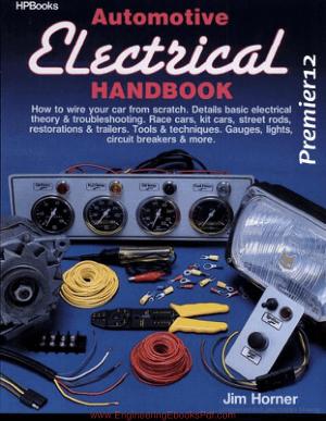 Automotive Electrical Handbook By Jim Horner