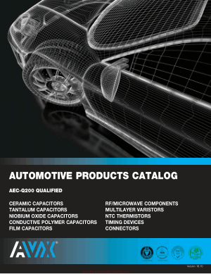Automotive Products Catalog