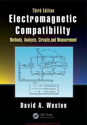 Electromagnetic Compatibility Methods Analysis Circuits and Measurement Third Edition By David A. Weston