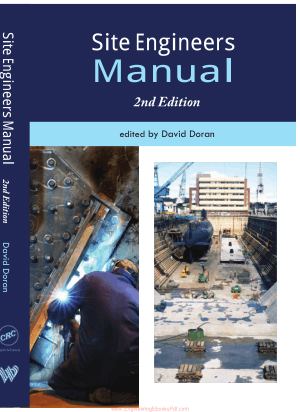 Site Engineers Manual Second Edition By David Doran