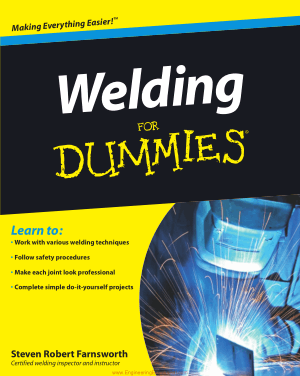 Welding for Dummies by Steven Robert Farnsworth