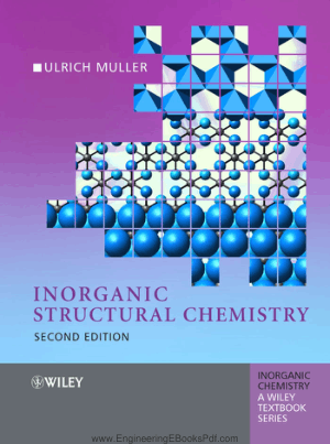 Inorganic Structural Chemistry Second Edition By Ulrich Muller