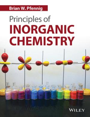 Principles of Inorganic Chemistry By Brian W. Pfennig