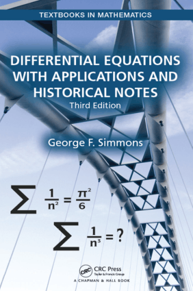Differential Equations with Applications and Historical Notes Third Edition by George F. Simmons