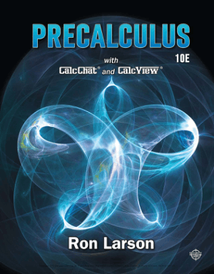 Precalculus 10th Edition By Ron Larson