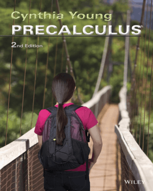 Precalculus Second Edition By Cynthia Y. Young