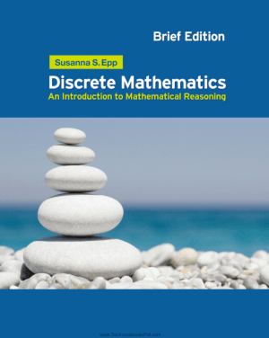 Discrete Mathematics an Introduction to Mathematical Reasoning by Susanna S. Epp