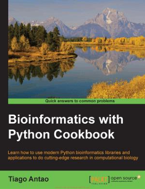Bioinformatics with Python Cookbook By Tiago Antao
