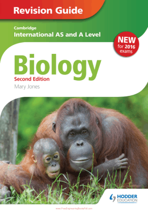 Cambridge International AS and A Level Biology 2nd Edition by Mary Jones Revision Guide