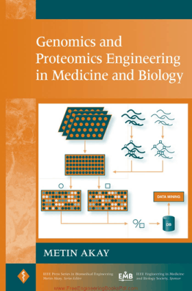 Genomics and Proteomics Engineering in Medicine and Biology By Metin Akay