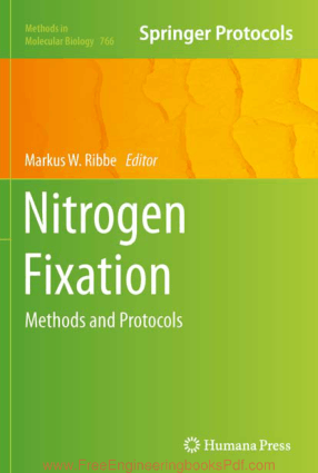 Nitrogen Fixation Methods and Protocols Edited by Markus W. Ribbe