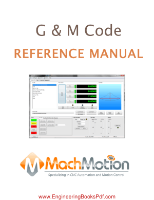 G and M Code Reference Manual