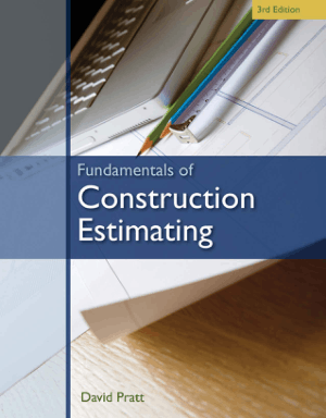 Fundamentals of Construction Estimating 3rd Edition by David J. Pratt