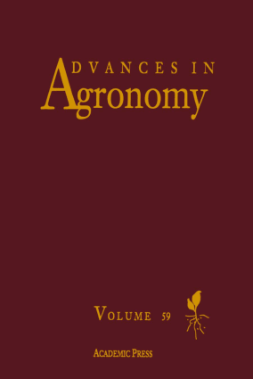 Advances in Agronomy Volume 59 by Donald L. Sparks