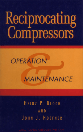 Reciprocating Compressors Operation and Maintenance