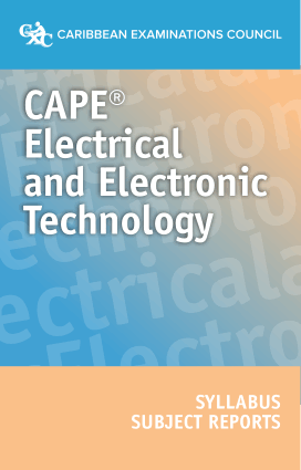 CAPE Electrical and Electronic Technology Syllabus Subject Report