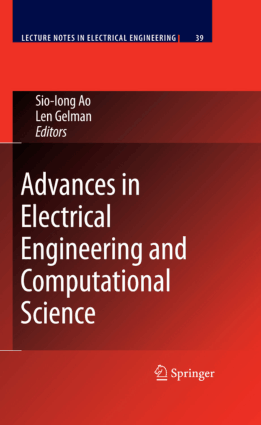 Engineering and Computational Science Advances in Electrical by Sio-Iong Ao and Len Gelman