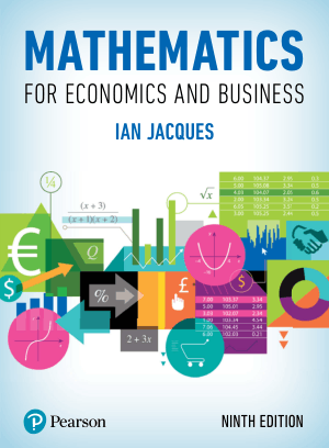 Mathematics for Economics and Business Ninth Edition by Ian Jacques