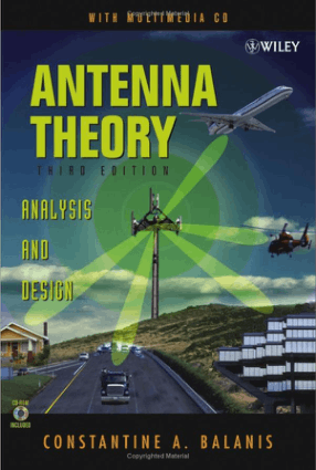 Antenna Theory Analysis and Design Third Edition by Constantine A. Balanis