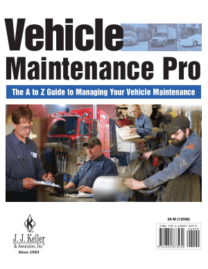 Vehicle Maintenance Pro, the A to Z Guide to Managing Your Vehicle Maintenance