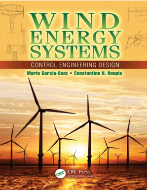 Wind Energy System Control Engineering Design By Mario Garcia Sanz And Constantine H Houpis