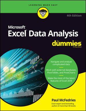 Excel Data Analysis for Dummies 4th Edition by Paul McFedries