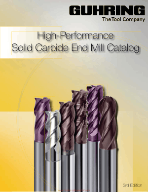 High Performance Solid Carbide End Mill Catalog