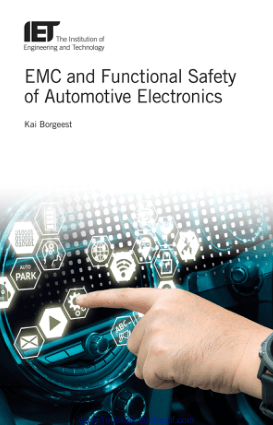 EMC and Functional Safety of Automotive Electronics by Kai Borgeest PDF Free Download