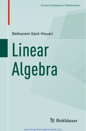 Linear Algebra by Belkacem Said Houari