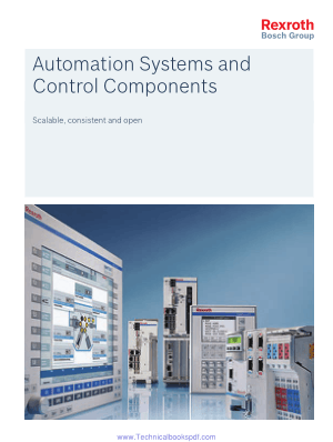 Automation Systems and Control Components Scalable, Consistent and Open