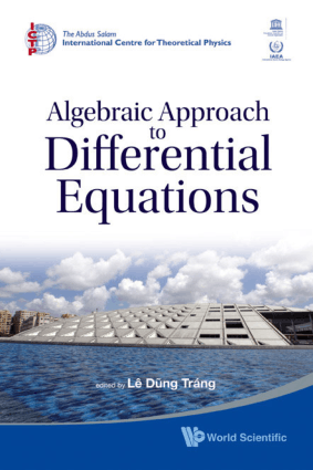 Algebraic Approach To Differential Equations By Le Dung Trang